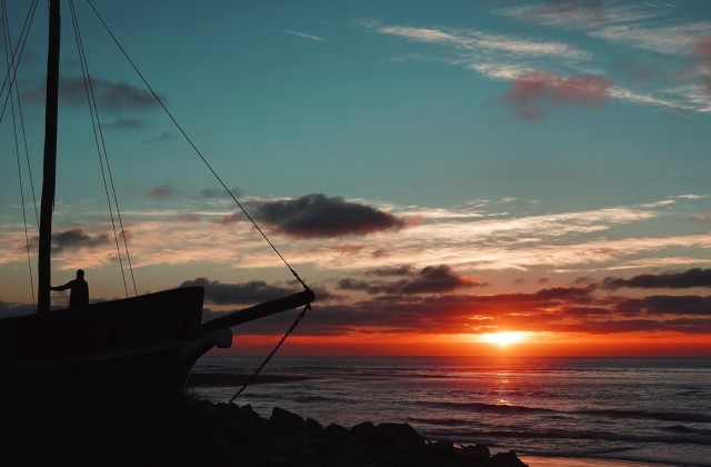 Sunset point, Hokitika